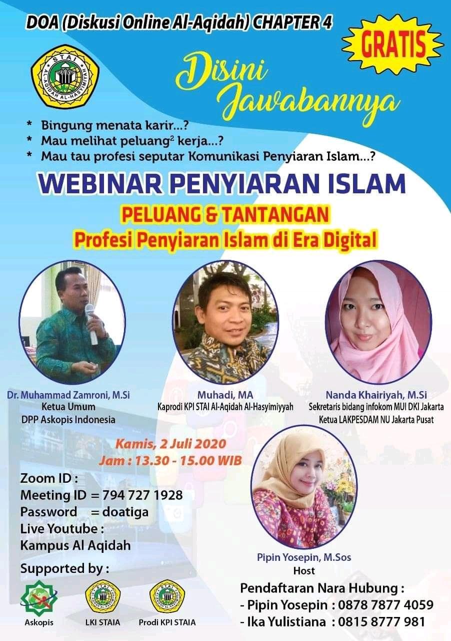 Diskusi Online Al-Aqidah (DOA) 4