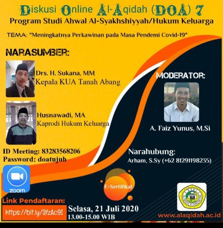 Diskusi Online Al-Aqidah 7